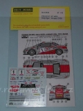 Decal 1/43 Reji Model - Peugeot 307 WRC - Rally Hungary 2006/ Toth