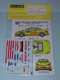 Decal 1/43 Reji Model - Peugeot 307 WRC - Tour de Corse 2006/ G. Galli
