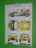 Decal 1/43 MF Zone - Ford Focus RS WRC Kulig / Baran - Tofas Rally Turkey 2002