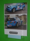 Decal 1/43 MF Zone - Skoda Fabia WRC Kahle / Doerr - Fuchs Oil Rally Agropa 2012
