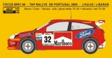 "Decal 1/24 Reji model - Ford Focus WRC ""Marlboro"" - Portugal 2000/ J. Kulig"