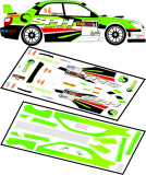Decal 1/43 MF Zone - Impreza S12B WRC O'Riordan - Todds Leap Ulster Rally 2012