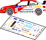 Decal 1/43 MF Zone - Citroen Xsara WRC Reźnik / Mazur - 48 Rajd Barbórka 2010