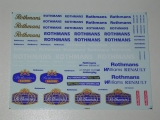 Decals 1/43 Rothmans