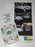 Decals 1/43 Škoda Felicia Kit Car - Catalunya 96/ Triner - Sibera
