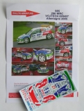 Decals 1/43 Peugeot 206 WRC - Rally Deutschland 2005/ Vojtěch