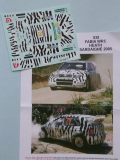 Decals 1/43 Škoda Fabia WRC - Rally Sardegna 2005/ Heath