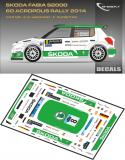 Decal 1/43 MF Zone - Škoda Fabia S2000 S. Wiegand - Acropolis Rally 2014