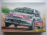 Plastic kit 1/24 - Peugeot 206 WRC - Safari Rally 2002
