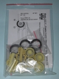 1/24 Reji Model - Wheels – O.Z.Racing 18'' - 15 spoke / 4 screw