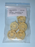 "1/24 Reji Model - Wheels – Speedline 18"" ( with 11spoke ) 5 pieces"