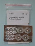 1/24 Reji Model - fotolepty - Wheels wire panel – BBS 15""