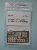 1/24 Reji Model - fotolepty - Buckles 1990 bis ( for two seats )