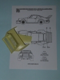1/24 Reji Model - Porsche 934/5 Upgrade set - rear wing