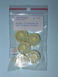 "1/24 Reji Model - Wheels – O.Z. 18"" (15 spoke / 5 screw) - 5 pieces"