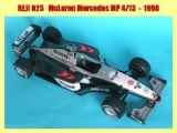 "Decal 1/20 Reji model - McLaren MP 4/13 ""West"" 1998"