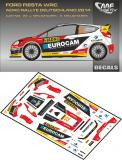 Decal 1/43 MF Zone - Ford Fiesta WRC J. Melichárek - Rally Deutschland 2014