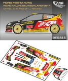 Decal 1/43 MF Zone - Ford Fiesta WRC M. Prokop - Rally Deutschland 2014