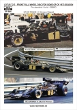 1/20 Reji Model - Lotus 72 E - 1973, front wheels