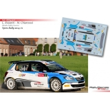 Decal 1/43 - Skoda Fabia S2000 - Rally Ypres 2014/ L. Rossetti