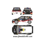 Decal 1/43 JHmodels43 - Fabia S2000, Janner Rally 2013/ J. Cerny