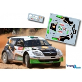 Decal 1/43 JHmodels43 -  Fabia S2000, Rally Portugal 2013/ P. Meireles