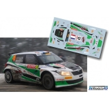 Decal 1/43 JHmodels43 - Fabia S2000, Rally Monte Carlo 2014/ M. Margaillan