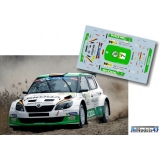 Decal 1/43 JHmodels43 - Fabia S2000, Rally Liepaja 2014/ S. Wiegand