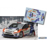 Decal 1/43 JHmodels43 - Ford Fiesta RS WRC, Sweden 2014/ M. Solowow