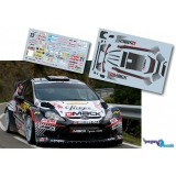Decal 1/43 JHmodels43 - Ford Fiesta RS WRC, Rally Spain 2012/ M. Prokop
