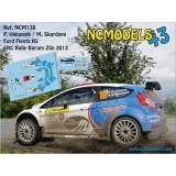 Decal 1/43 Pavel Valousek - Ford Fiesta R5 - Rally Barum 2013