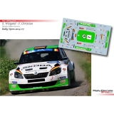 Decal 1/43 - Sepp Wiegand - Skoda Fabia S2000 - Rally Ypres 2014