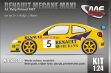 Kit 1/24 MF Zone - Renault Megane Maxi - Rally Poland 1997/ Kulig