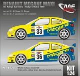 Kit 1/24 MF Zone - Renault Megane Maxi - Rally San Remo 1998