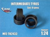 Transkit 1/24 MF Zone - Intermediate tyres 18 inch (4 piece)