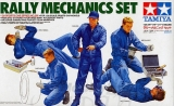 Plastic kit 1/24 - rally mechanics set