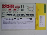 Decal 1/24 Reji model - Ford Escort RS Benzina – Mogul team 1997