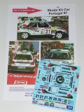 Decals 1/43 Škoda Felicia Kit Car - Rally Portugal 1997
