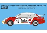 Transkit 1/24 Reji model - Ford Sierra 500 RS - 7th Tour de Corse 1987 - Sainz