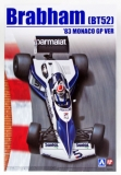 Plastic kit 1/20 - Brabham BT52 - Monaco GP 1983