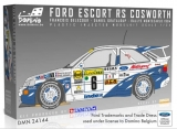 Plastic kit 1/24 - Ford Escort RS Cosworth - Rally Monte Carlo 1994/ Delecour