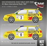 Kit 1/24 MF Zone - Volkswagen Golf Mk3 Kit Car - Manx International Rally 1997