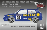 Kit 1/24 MF Zone - Volkswagen Golf Mk3 Kit Car - Rally Poland 1999