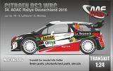 Transkit 1/24 MF Zone - Citroen DS3 WRC - Rally Deutschland 2016/ Lefebvre