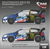Transkit 1/24 MF Zone - Volkswagen Polo RX - FIA World Rallycross 2017/ Solberg