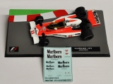 "Decals ""MARLBORO"" - McLaren M23 1976/ James Hunt"
