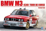 Plastic kit 1/24 - BMW M3 E30 Tour de Corse Rally 1989 4th Chatriot and Perin