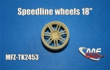 "Transkit 1/24 MF Zone - Speedline wheels 18"" (4 piece)"
