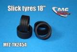 "Transkit 1/24 MF Zone - Slick tyres 18"" (4 piece)"