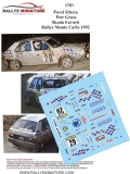 Decals 1/43 Škoda Favorit - Rally Monte Carlo 1992/ Pavel Sibera